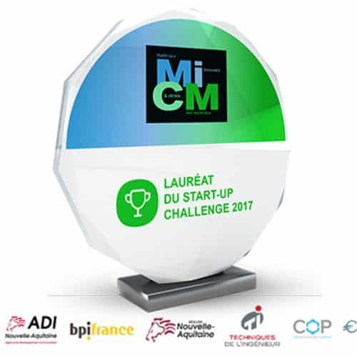 Carbon waters 1st prize at the micm 2017