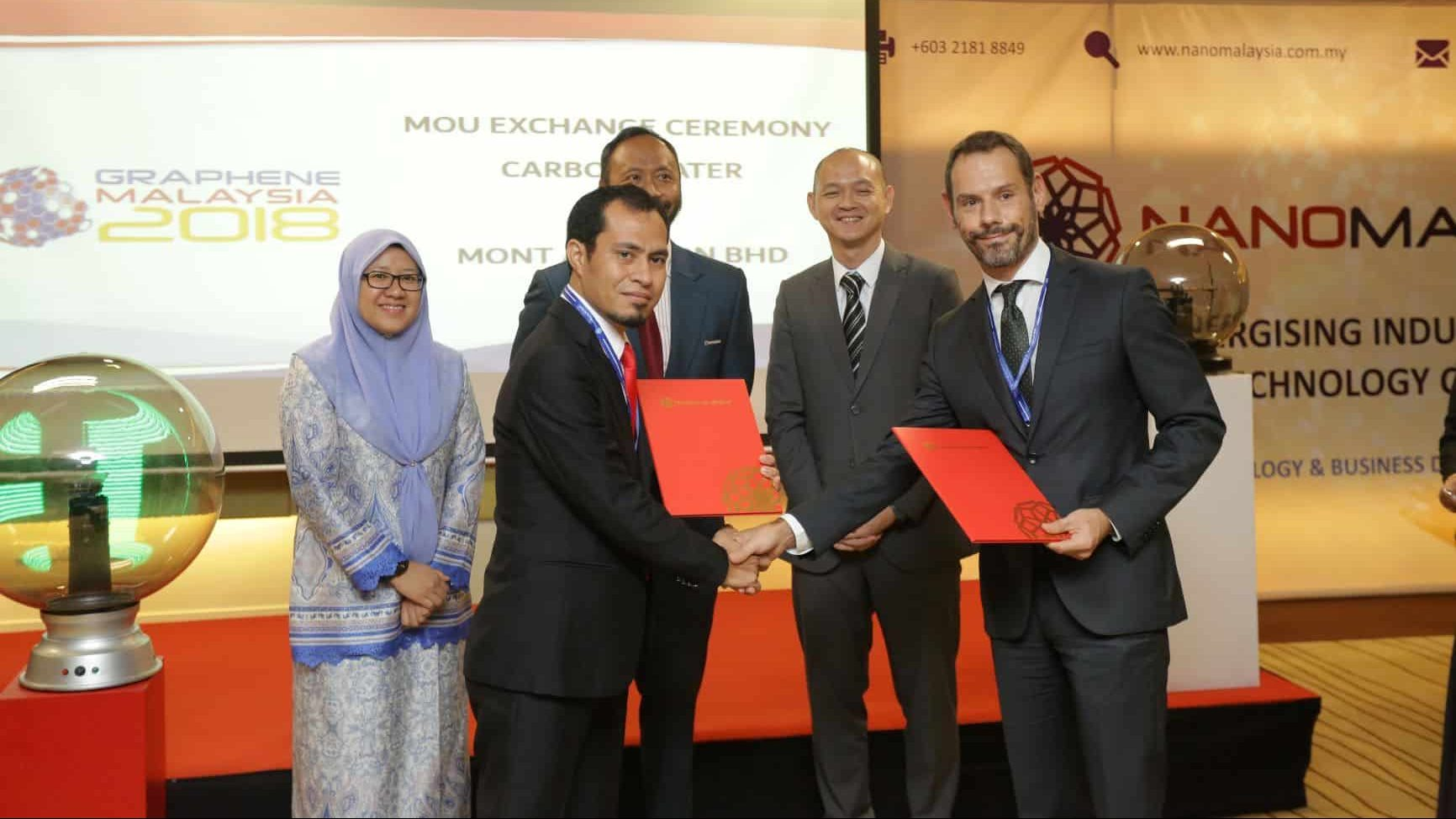 Carbon Waters' graphene in Malaysia