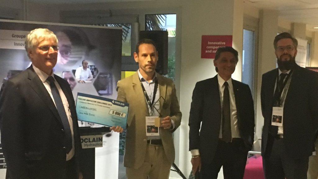 Carbon Waters won the Poclain innovation challenge 2018