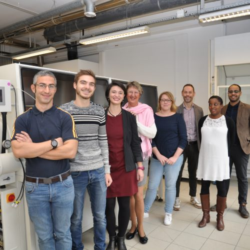 Carbon Waters Team 2019 in their new offices Chemminov Pessac France