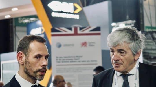 Alban Chesneau et Bernanrd Uthurry au JEC World 2019