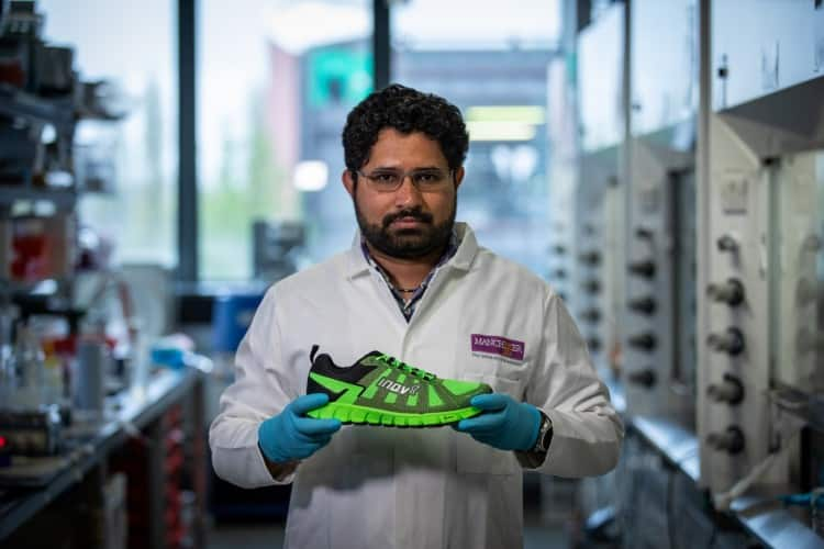 University Manchester collaborated with Inov-8 Graphene Shoes