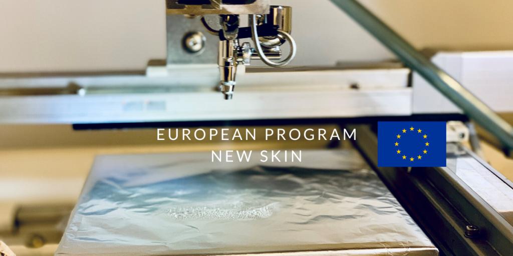 european program NEW SKIN carbon waters