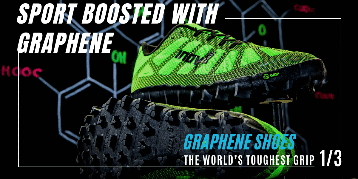 Graphene shoes by Inov-8
