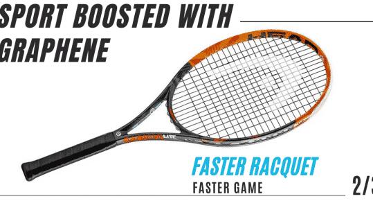 Sport graphene head company graphene racquet ski